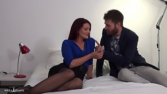 Housewife Sells Her Ass To Her Friends While Her Husband Works