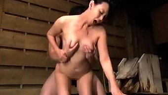 Japanese People Asian Senior Supplying Blowjob To Actually Blessed With Good Luck Bloke